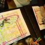 Salolaisten kartat valmiina sattumataiteiluun