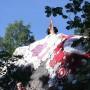 Ensimmäinen kiipeilijä rohkeni kiville harppumusiikin säestyksellä