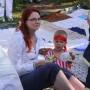 Mehuhetki piknikpeitolla